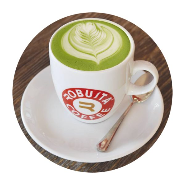 matcha green latte
