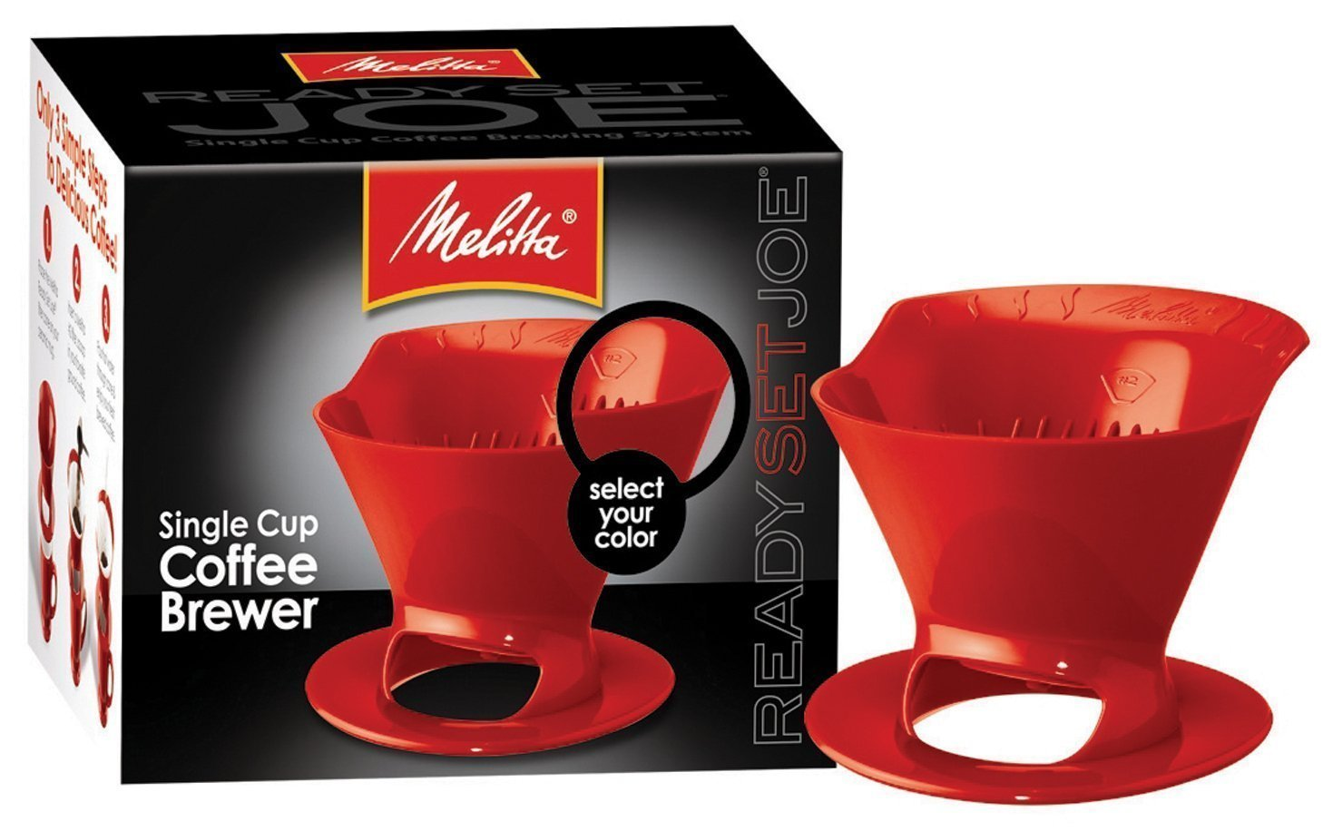 Melitta Coffee Brewer Red Robusta Coffee
